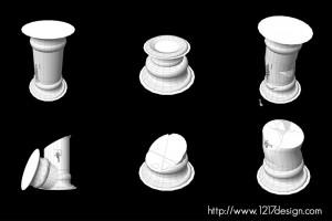 Maya Pillar Variations
